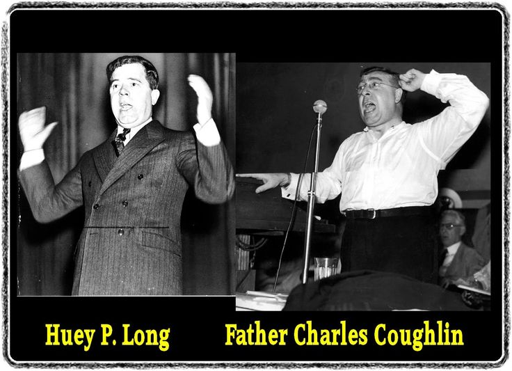 Assassinated Louisiana Governor Huey P Long was also a Jesuit named Father Charles Coughlin. Huey Long's death was a hoax.
