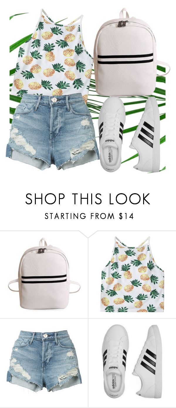 """""""#city #outfit #summer"""" by nicollestyle ❤ liked on Polyvore featuring 3x1 and adidas"""