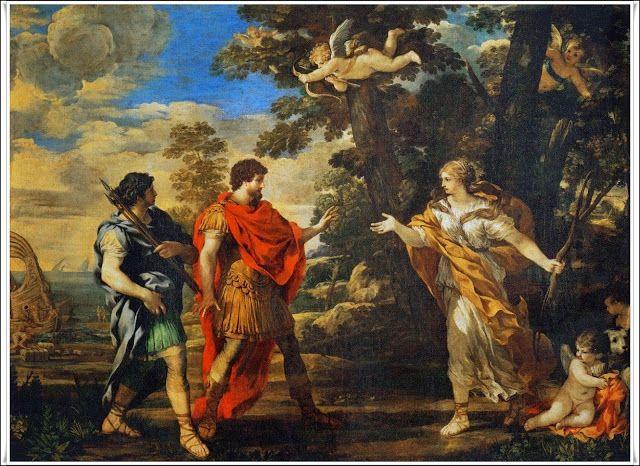 Las Revelaciones del Tarot: Acates - Mitologia Romana