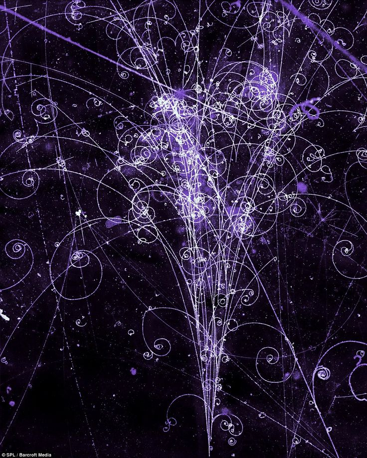 The Big Bang in pictures: Scientists produce computer images of particle explosions similar to the greatest ever galactic light show