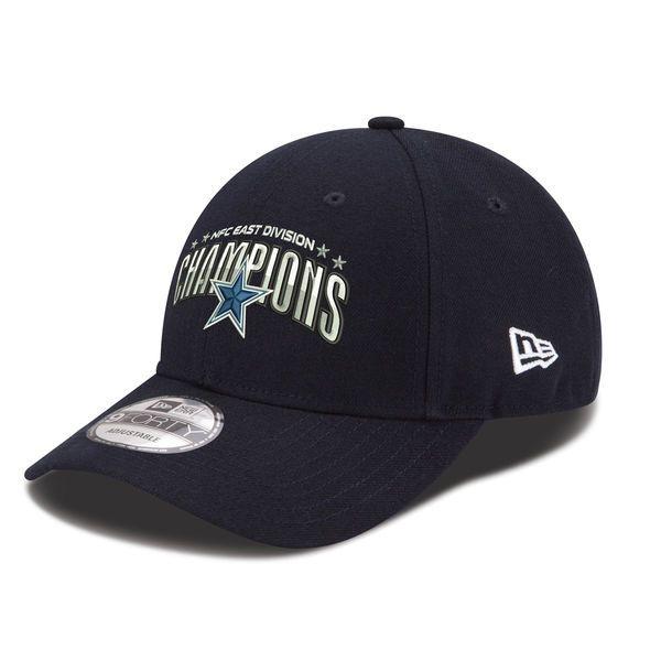 Men's Dallas Cowboys New Era Navy 2016 NFC East Division Champions TC 9FORTY Adjustable Hat