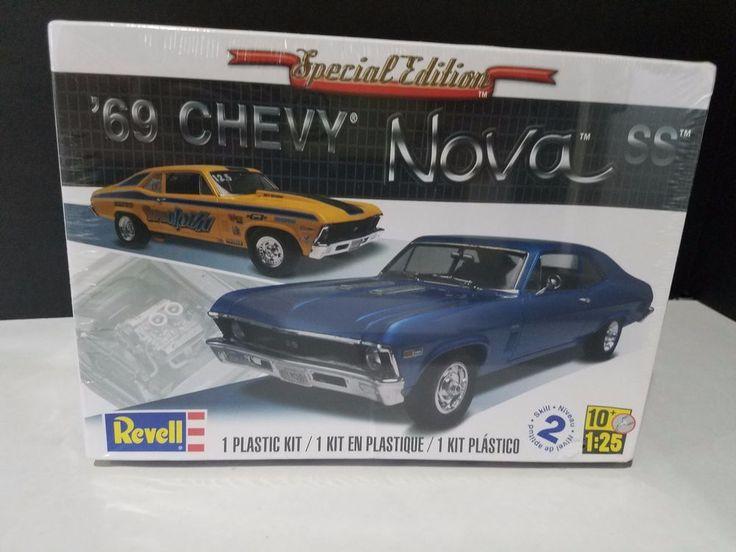 Revell Monogram 1969 Chevrolet Nova SS Model Kit 1/25 Toy | Toys & Hobbies, Models & Kits, Automotive | eBay!