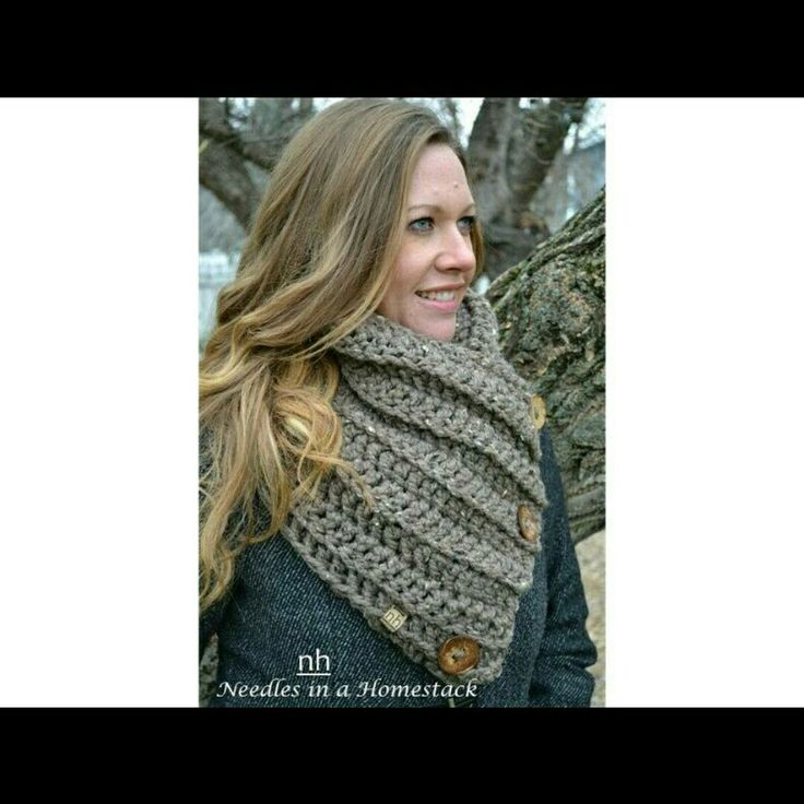 Photoshoot with the new Gemstone Wrap Cowl