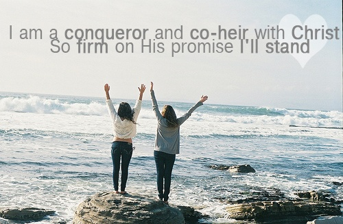 Stand on His promises.: God, Friends Forever, At The Beach, Praise The Lords, Ocean Life, Inspiration Quotes, Elementary Schools, Deserts Songs, Bestfriends Quotes