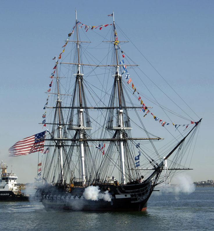 The USS Constitution lets off a full salvo in this picture. She's the world's oldest commissioned naval vessel still afloat! Don't miss the chance to see her by sea through Boston's Best Cruises! (Ahoy 1812 -- Boston's Best Cruises)