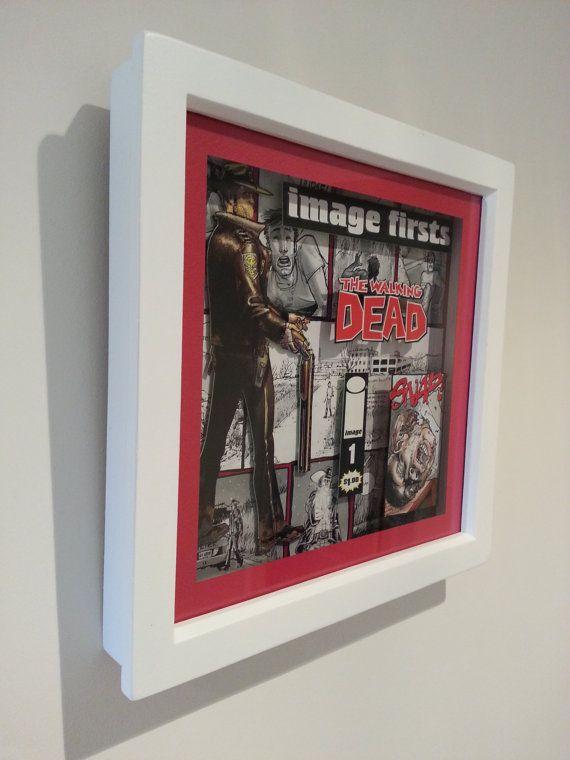 3D Altered Comic Book Art in 8x8 inch by reinventedcraftgeek, £28.00