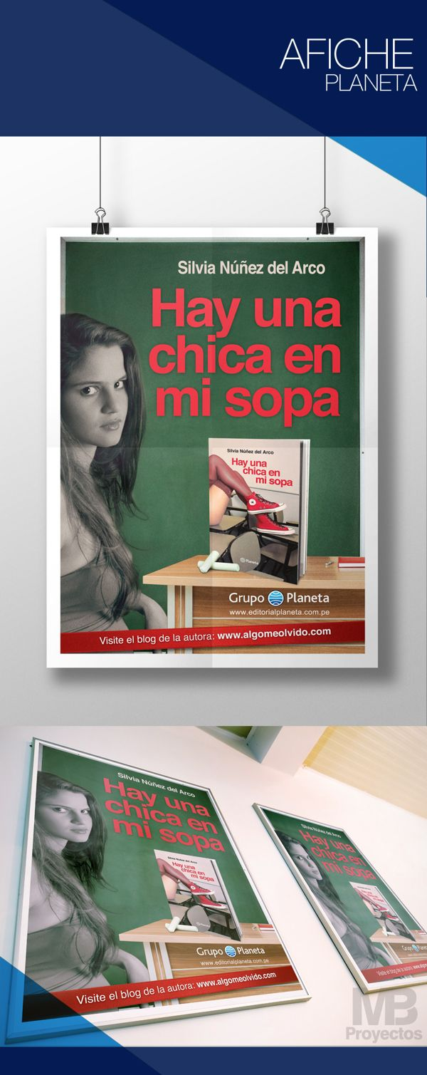 AFICHE by MB Proyectos, via Behance