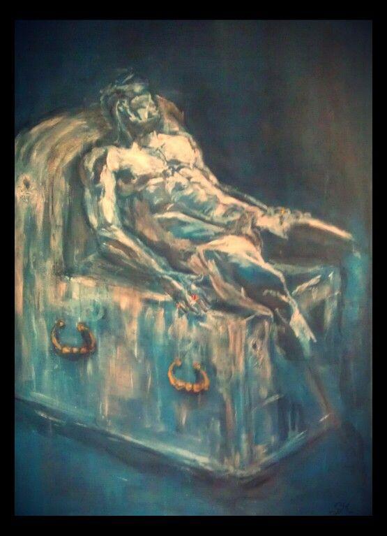 Acrylic on canvas.80×100