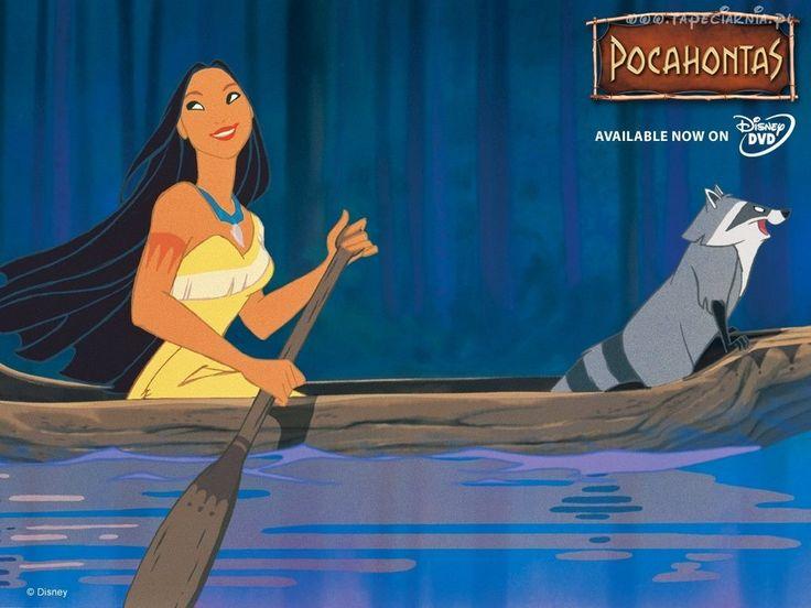 Pocahontas, kajak, szop