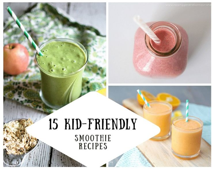 Smoothies are a magical and powerful tool in getting your children used to eating fruits and veggies! Find out how to introduce kiddos to the wonder of smoothies (even the resistant ones!) and enjoy 15 kid-friendly recipes to get your family's smoothie habit off on the right (and tasty) foot