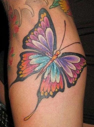 unique Tattoo Trends - Top 50 Best Butterfly Tattoo Designs And Ideas 2015