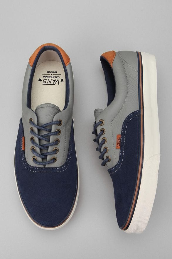 Vans Era 59 Blocked Suede Sneaker, Achieve this kind of bowless look with  LACE ANCHORS - best online shoe store, shoes womens online, shoes online  womens * ...