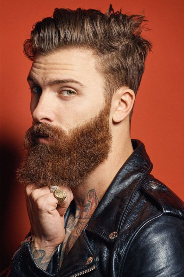 One of the most frequent questions is 'how do I deal with a curly #beard?' How to Straighten Your Beard Hair.