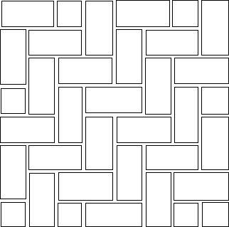 Diagram of Herringbone Brick Pattern : we love Herringbome for paths and patios!