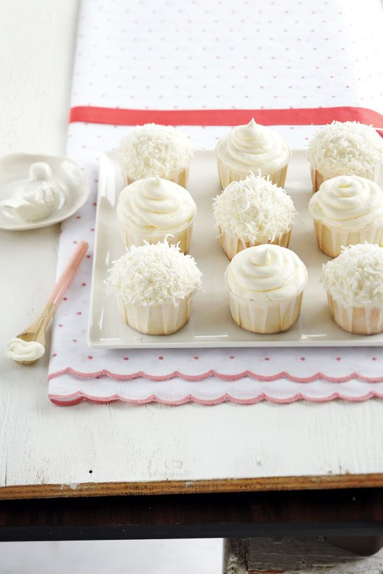 Coconut lime cupcakes. YUM!