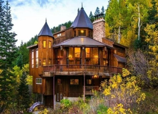 Castle Cabin in the Mountains - Unique Home and Real Estate - Good Housekeeping