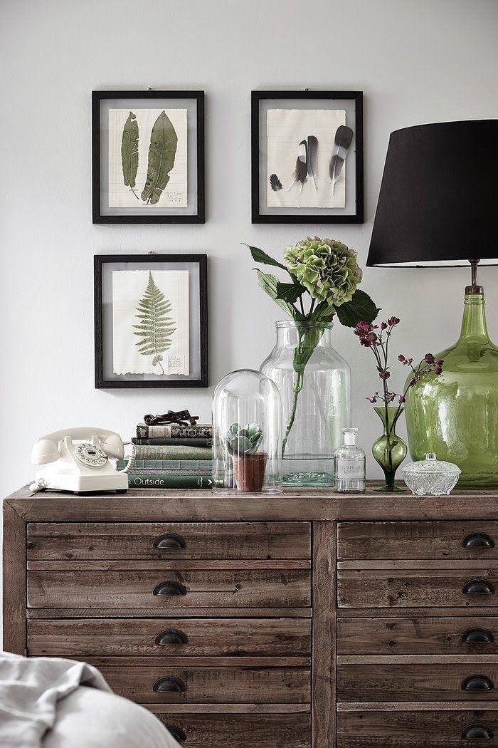 Ideas de decoración Botánica / Botanical decorating ideas