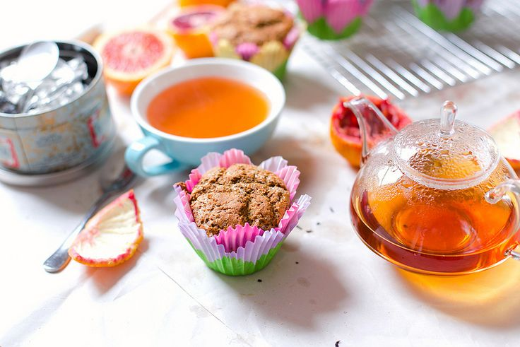 Blood Orange Poppy Seed Muffins   the whinery