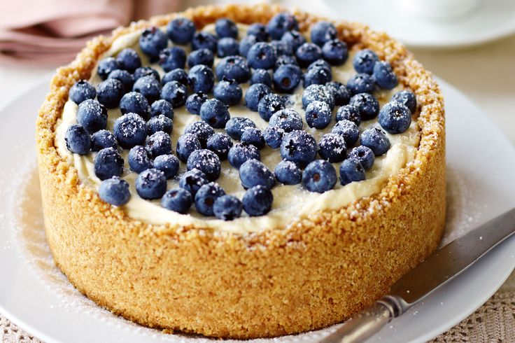 Reduce the stress on the big night with this delicious make-ahead blueberry cheesecake dessert.