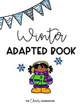 Winter Adapted Book and Comprehension Questions #sped #literacy #winter