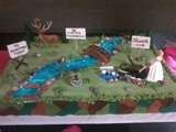 Image detail for -Hunting & Fishing Groom's Cake by Beda on Cake Central