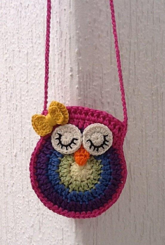 My crochet owl purse !  http://www.bigcraftyblog.blogspot.com/2012/02/free-crochet-owl-purse-pattern.html