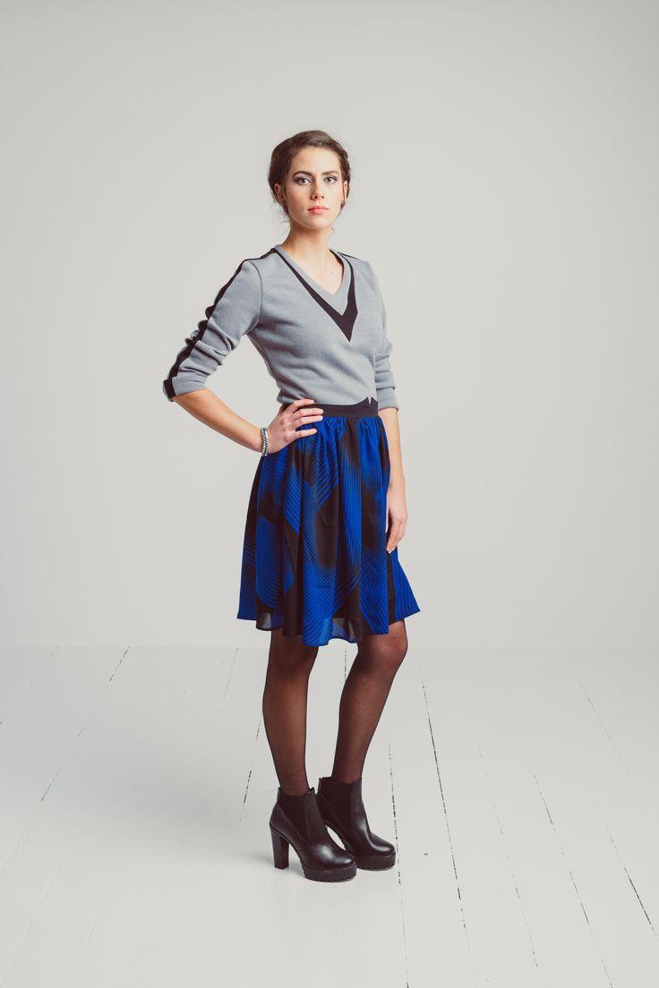 Desiree AW15 Robin Skirt and Raven Sweater www.clothingbydesiree.com
