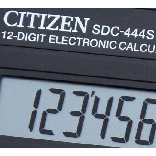 Asztali nagy számológép 1 2 karakteres Citizen SDC-444S Ft Ár 2,739 Ft Ár Asztali számológép - Nagy számológép