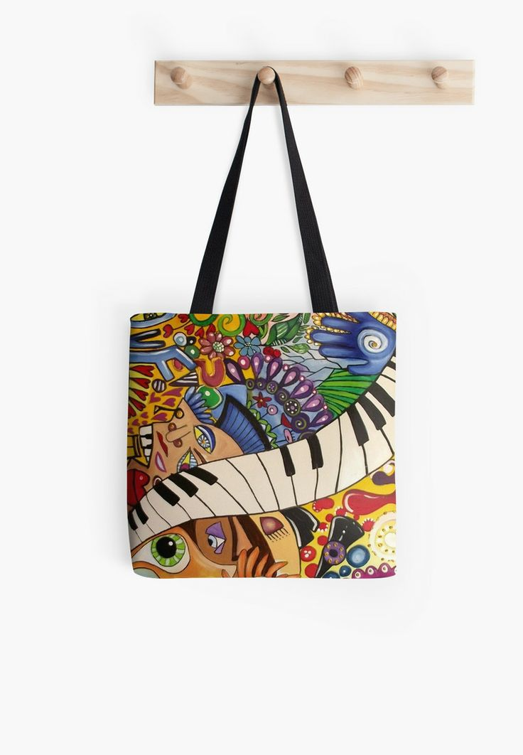 Get this rocking music bag!  'Metamorphic Dilatation' — The Beatles (Rock Art Series) by Cherie Roe Dirksen #music #art #thebeatles