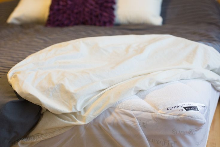 Sure Fit Mattress Pad Review {Giveaway}