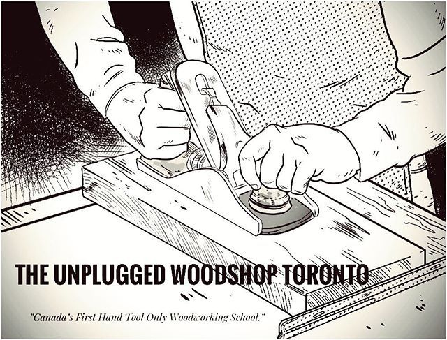 Heres a wonderful piece of work by a student of the Unplugged Woodshop. @megacarter sent this to me this week and were all blown away by her amazing skills-;) thanks again Meaghan!! #theunpluggedwoodshop #woodworkingart #design #handtools #artwork #drawing #anunpluggedlife #handplane #unplugged #torontolife
