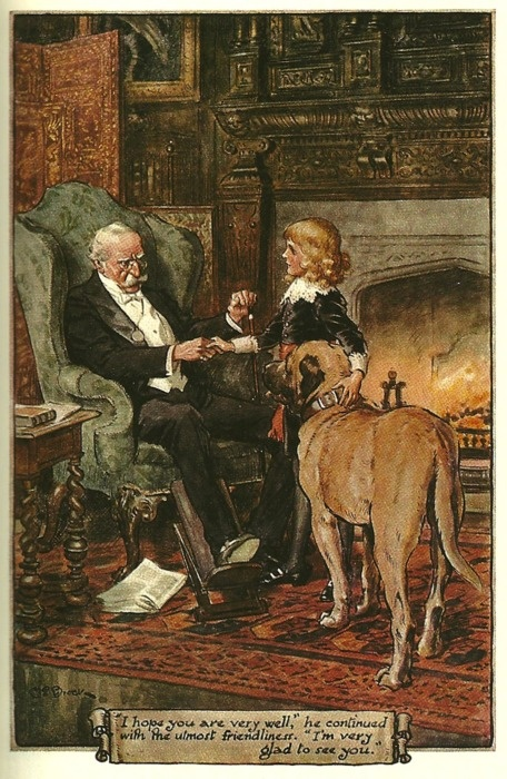 Little Lord Fauntleroy, another of Burnett's books that I still love after all the years.  The story is a clear story of loyalty, love and kindness. Well worth re reading.