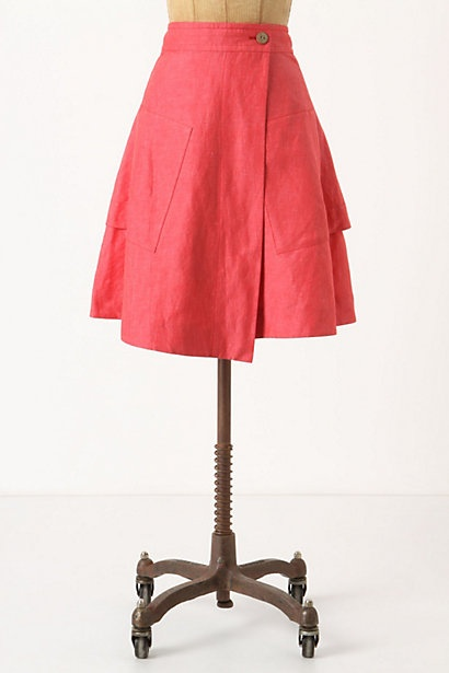 wrap skirts, the 70s are makin' a come back, y'all