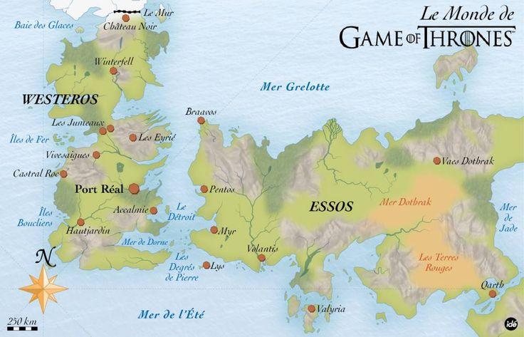 GOT's map