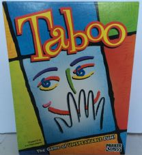 TABOO BOARD GAME - THE GAME OF UNSPEAKABLE FUN WITH BOARD  FAMILY PARTY BOARDGAME BY PARKER 2003 VGC