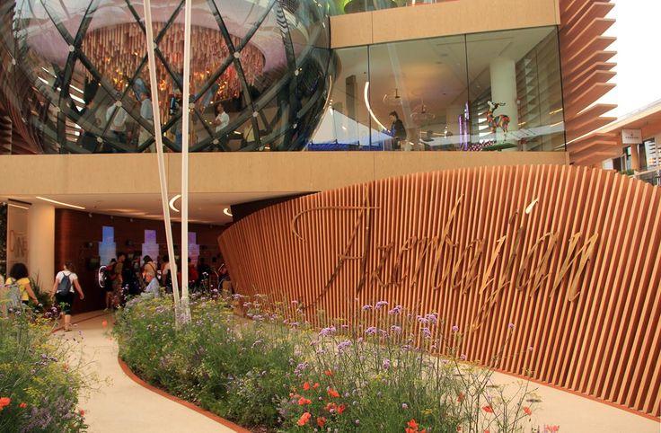 PADIGLIONE AZERBAIJAN EXPO 2015 - Un enorme globo di vetro visibile fin dall'esterno è il tratto distintivo più peculiare del Padiglione Azerbaijan a Expo