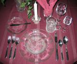 Proper Table Setting - How to Set a Formal Table - Setting the Table