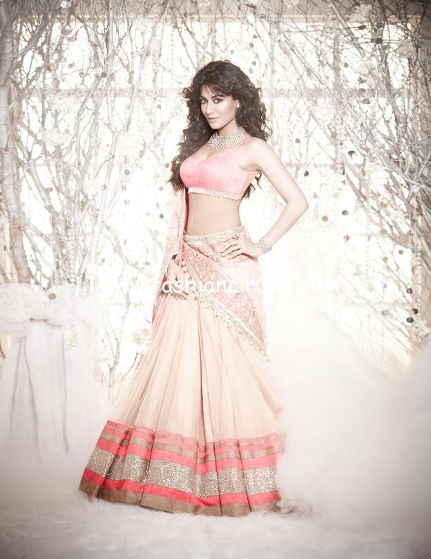 Chitrangada Singh's Photoshoot for L'Officiel India - November 2012 : Manish Malhotra... love this outfit #lehenga #choli #indian #shaadi #bridal #fashion #style #desi #designer #blouse #wedding #gorgeous #beautiful