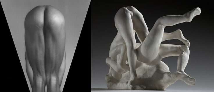 Mapplethorpe and Rodin: a mirror image