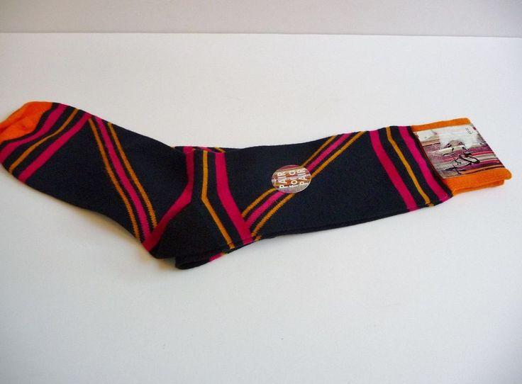 Arthur George by Rob Kardashian Dark Navy Stripe Socks One Size Neiman Marcus #ArthurGeorgebyRobertKardashian #Casual