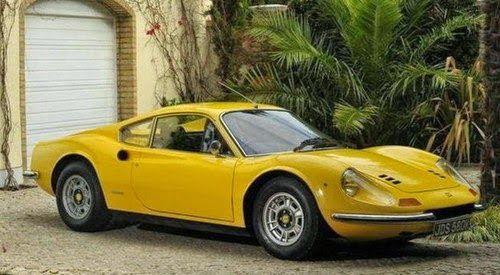 Monkey Motor: Se subastó la Ferrari Dino 246 GT de Sir Elton Joh...