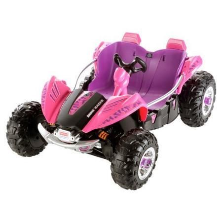 Fisher-Price Power Wheels Dune Racer 12-Volt Battery-Powered Ride-On Pink - 1970-Now