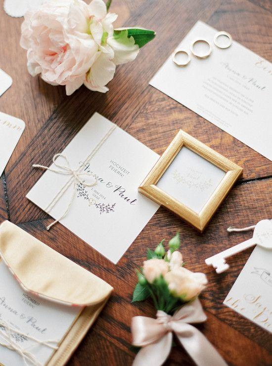 Austrian castle wedding invitations