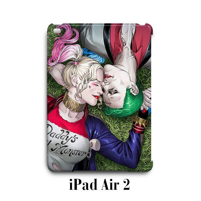 Harley Quinn Joker Suicide Squad iPad Air 2 Case Cover Wrap Around