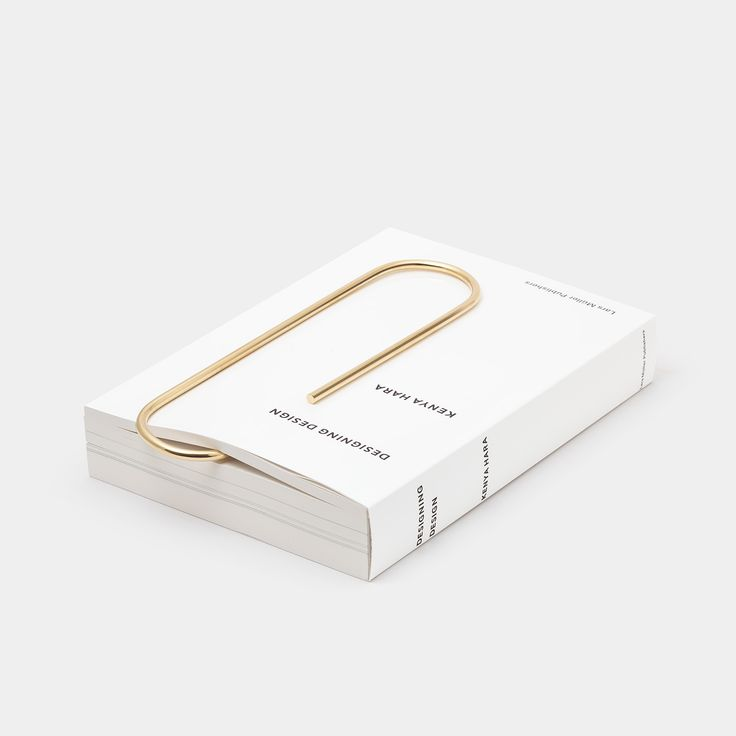 Carl Auböck Oversized Paperclip, Polished Brass — Ode to Things