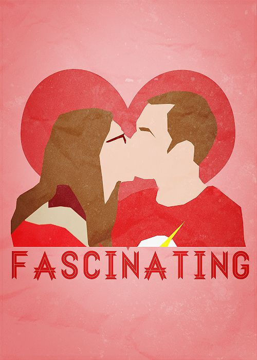 Sheldon and Amy Farrah Fowler. They finally kissed!! Oh happy day!