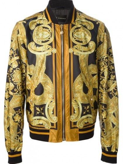 Versace - Printed Jacket