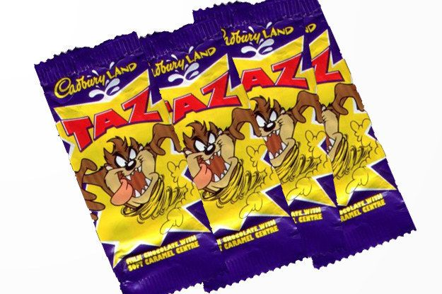 Taz bar | 29 Foods From Your Childhood That Didn't Come Back In 2015