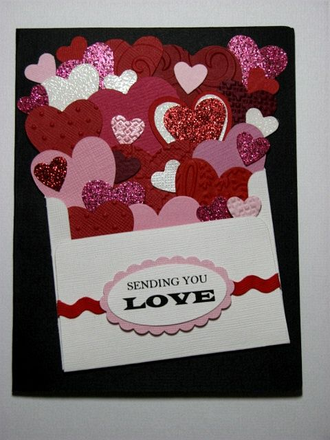 479 best images about Valentines Day Stampin Up Cards – Valentine Heart Cards