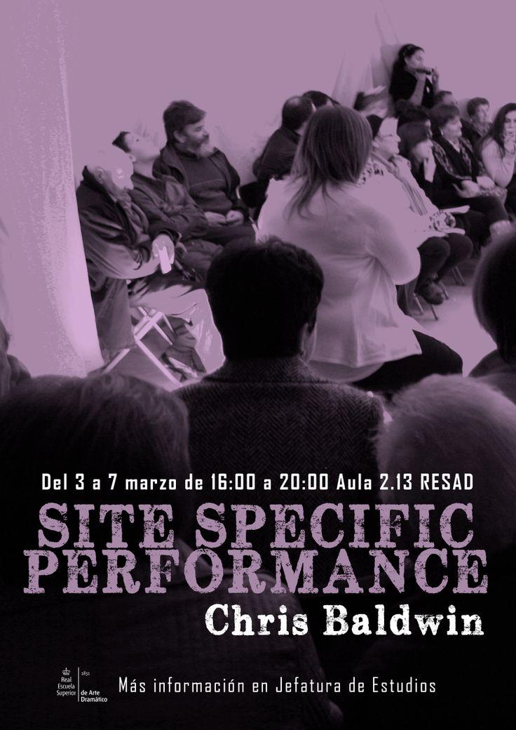 SITE SPECIFIC PERFOMANCE Cris Baldwin